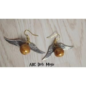 Boucles d'oreilles Vif d'or - 6€