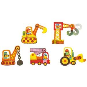 Puzzle duo Articulo véhicules - Djeco
