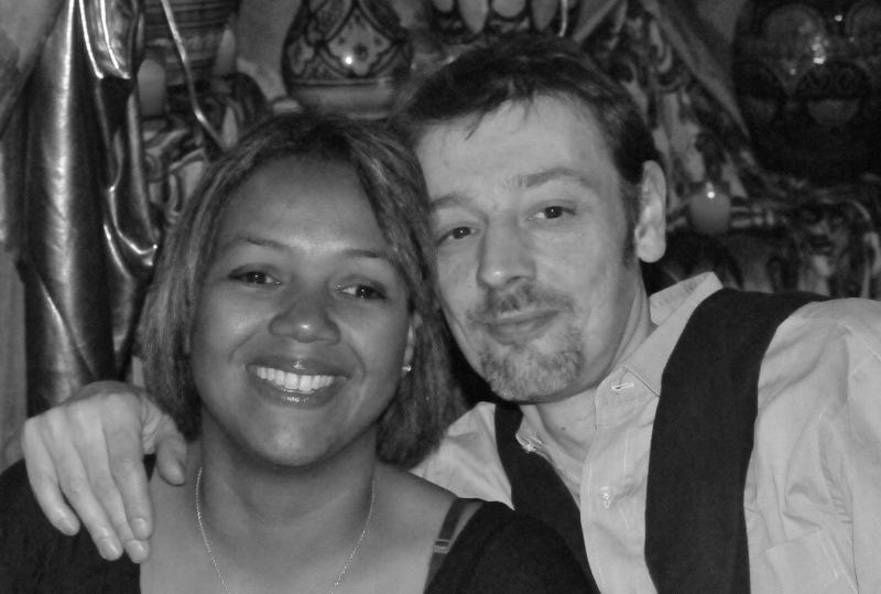 Liana et son mari Christophe