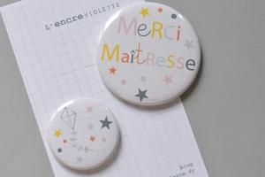Série de deux badges 6€